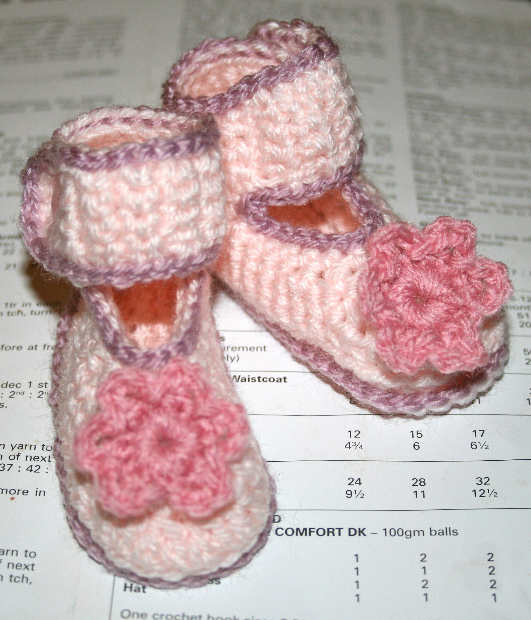 Coming Soon! Pink Crochet Baby Shoes Tutorial