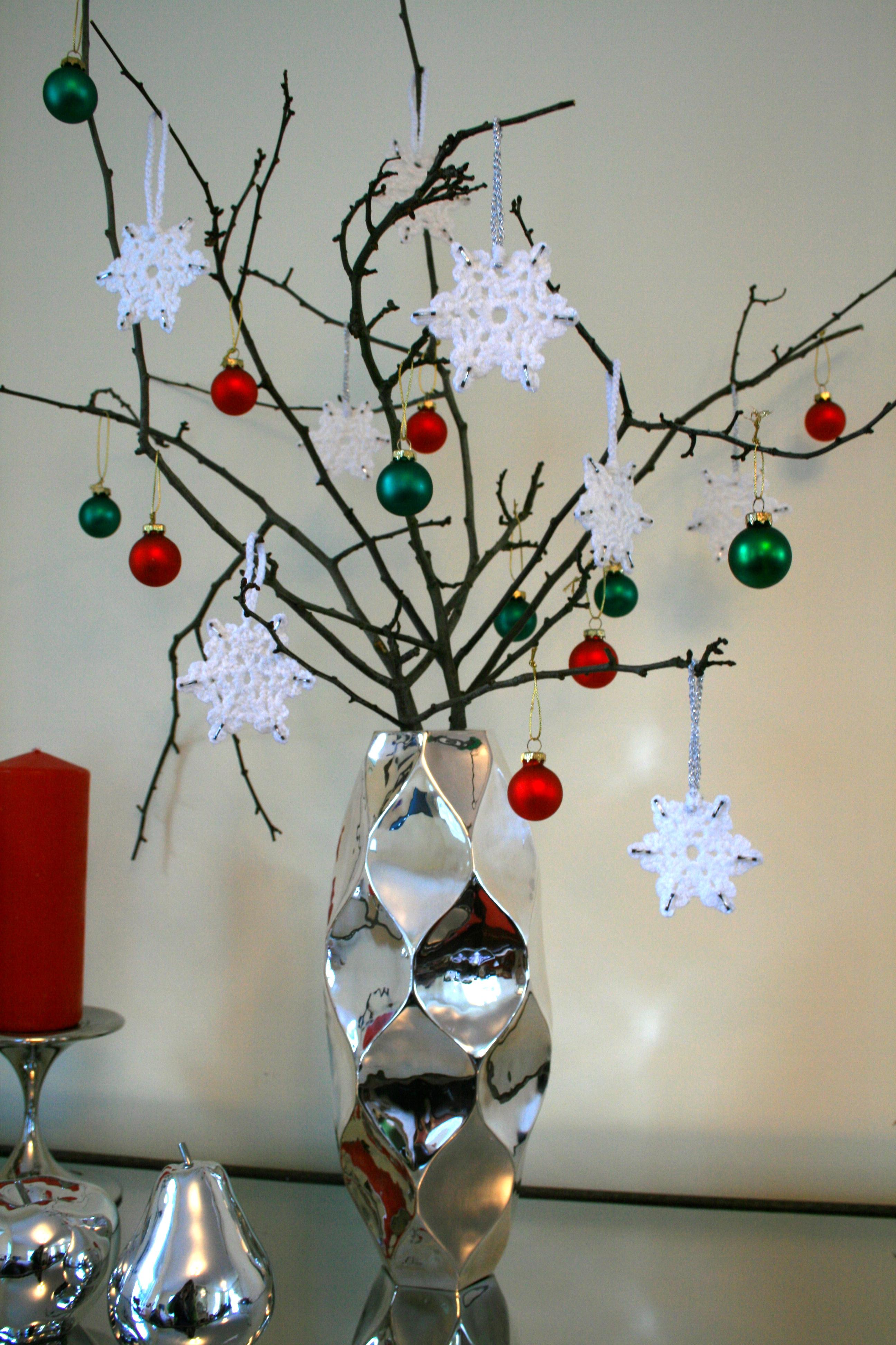 Crochet Snowflakes Christmas Decoration