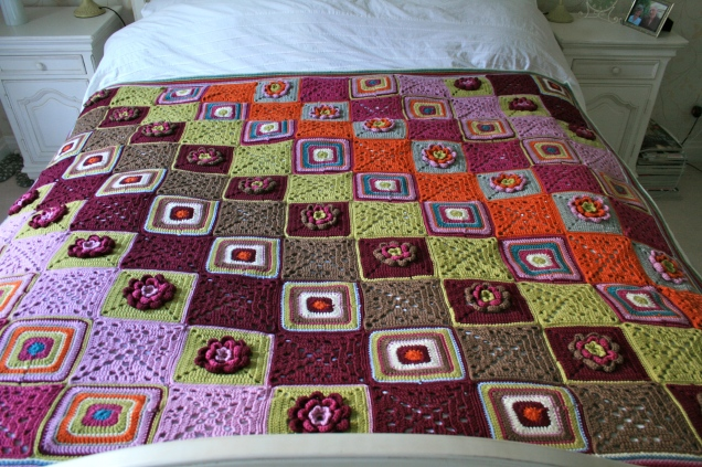 ColourfulBlanket-Bedspread