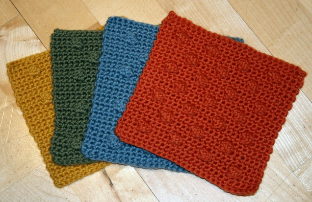 MamaH Crochet Bobble Squares