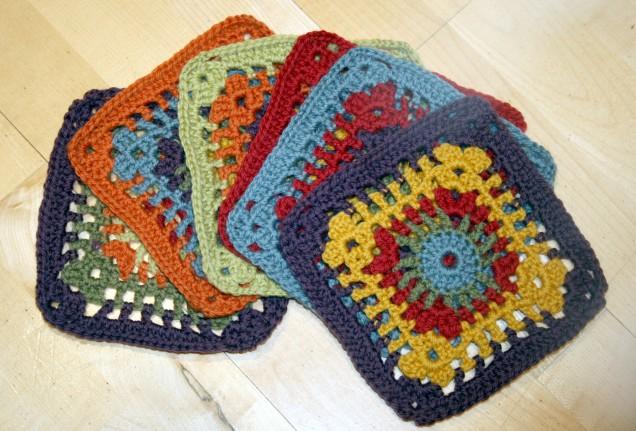 MamaH Crochet Sunray Squares