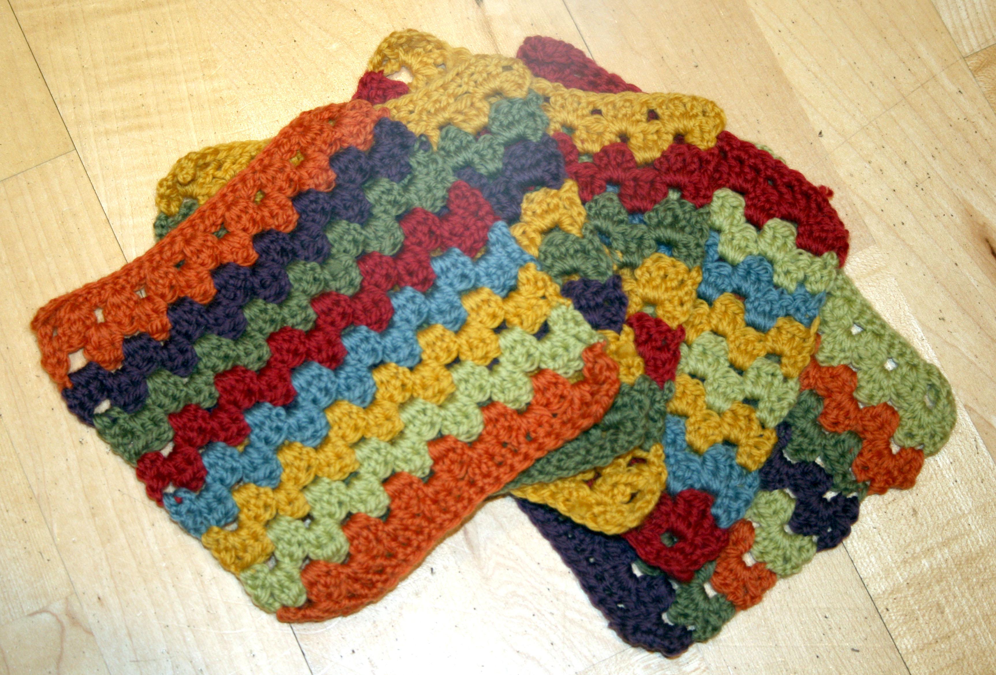 Crochet Granny Square Afghan ? Update thegrangerange