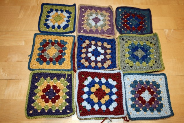 Crochet Granny Square Selection