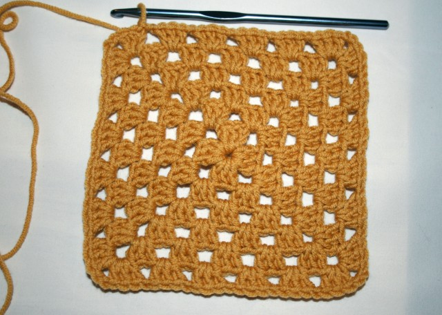 Granny Square Tutorial Six Rounds