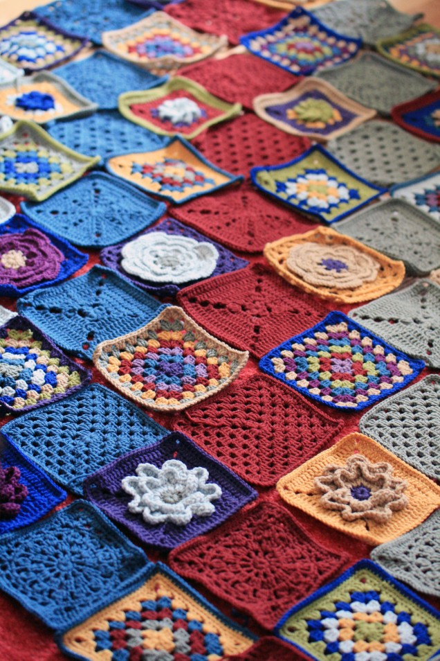 Blanket Squares Complete