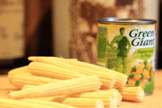 Fresh Sweetcorn Or Tinned