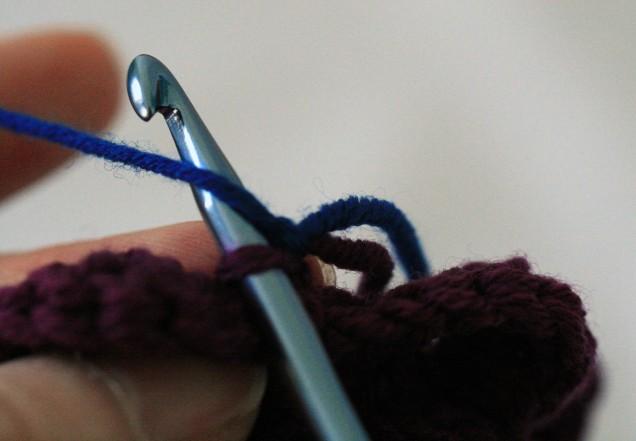 Round 6 Slip Stitch into the First Loop