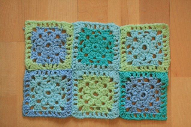 Baby Blanket Flower Squares