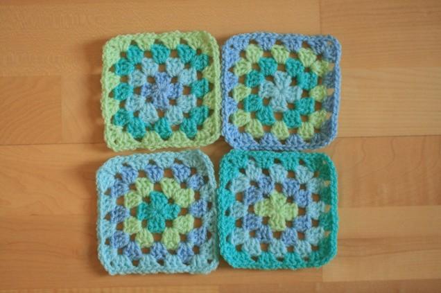 Baby Blanket Granny Squares