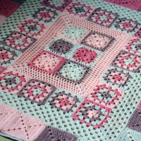 Crochet Baby Blanket Pretty In Pink