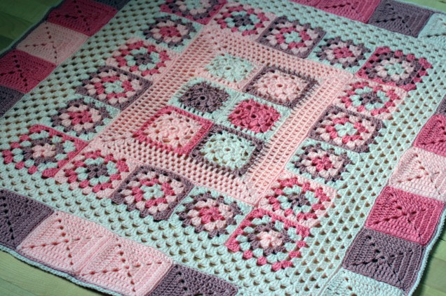 Baby Blanket Pink 2