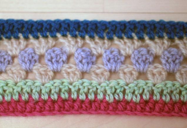 Crochet CAL week1