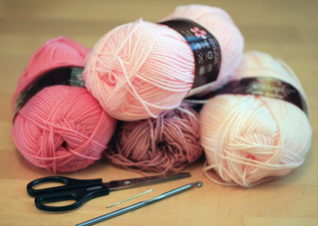 Pink Baby Blanket Yarn