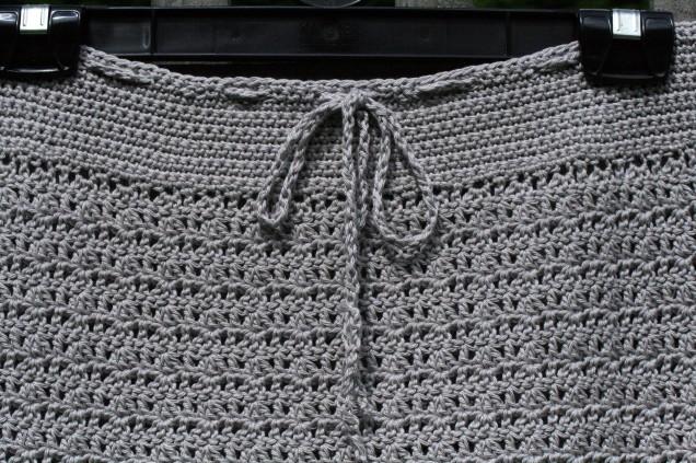 Crochet Skirt Waistline