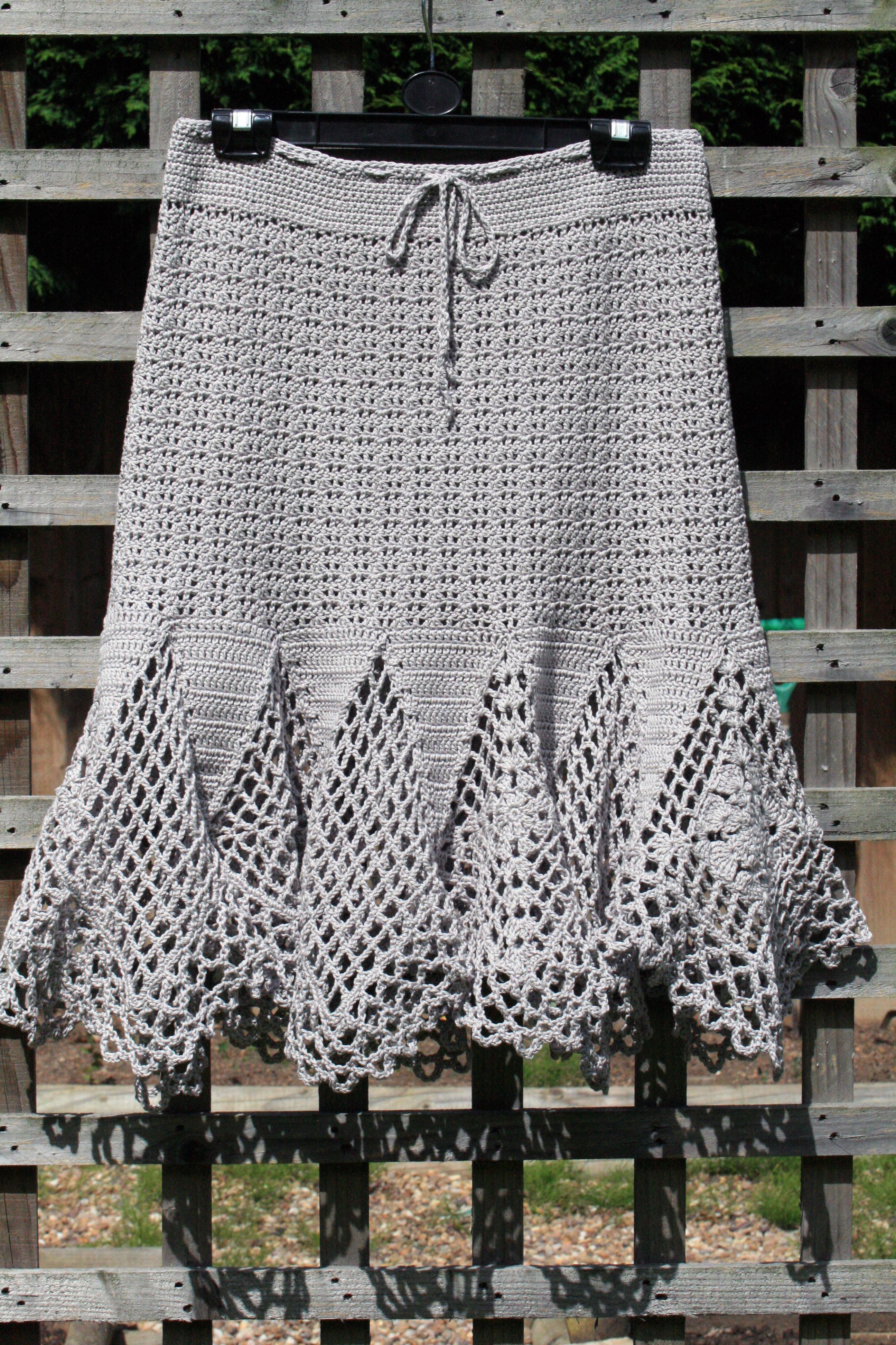 Crochet Pattern Skirt : Crochet Skirt thegrangerange