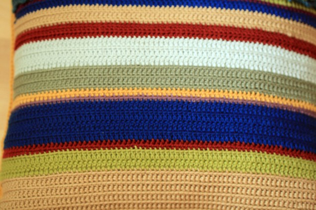 Stripy Cushion Back