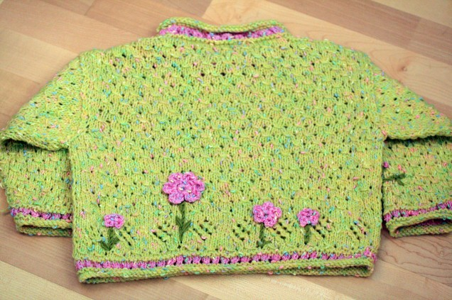 Flower Jumper Back