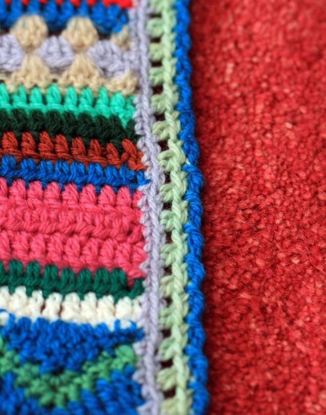 Blanket CAL Straight Edging