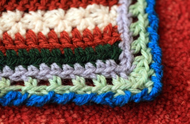 Blanket Cal Edging Corner