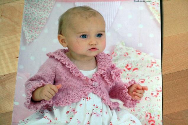 Pink Cardigan Pattern
