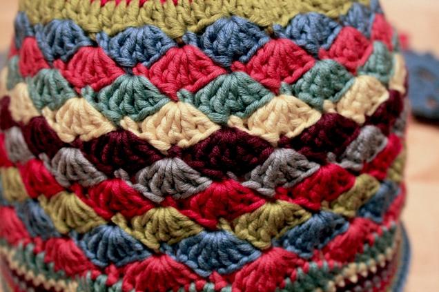 Crochet Beanie Hat Clusters