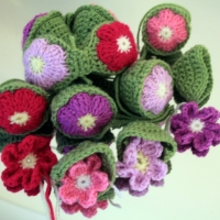 Flower Version - Amish Puzzle Ball
