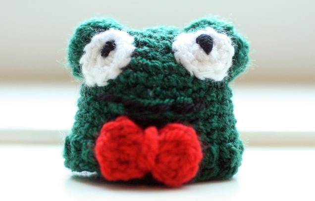 Innocent Smoothie Bottle Hat Frog