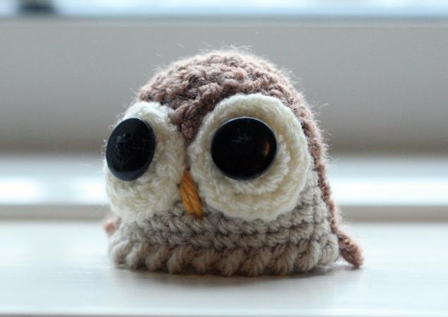 Innocent Smoothie Bottle Top Owl