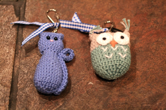 Love Lucie Crochet Key Rings