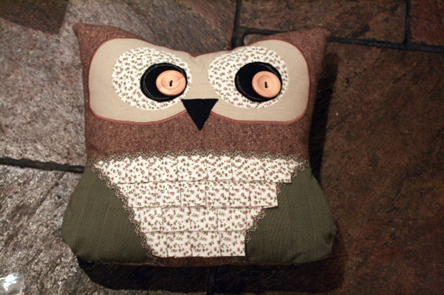 Love Lucie Owl Cushion