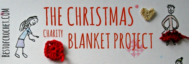 Best of Crochet » Join us! The Christmas Charity Blanket Project – directions!
