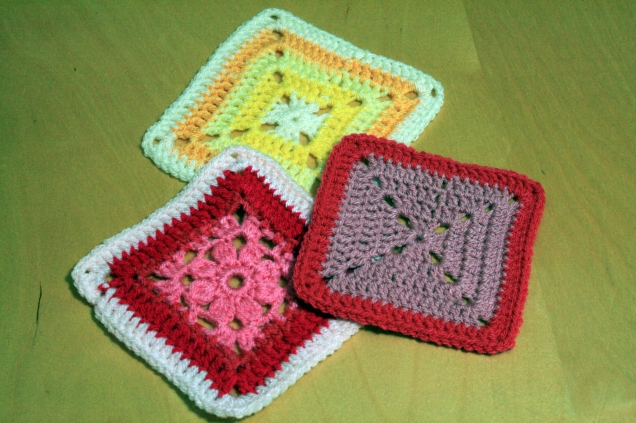 Patterned Crochet Squares