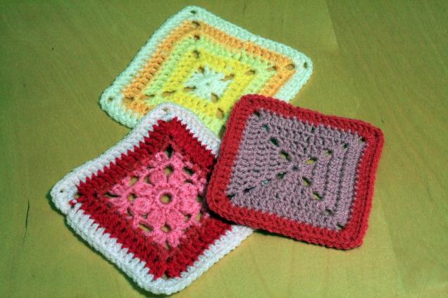 Patterned Crochet Squares