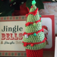 Crochet Christmas Tree, Snowflakes and Christmas Bunting