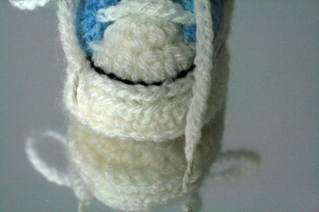 Crochet Converse Style Booties Laces