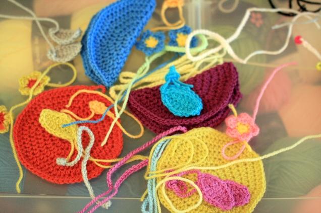 Crochet Bird Pieces