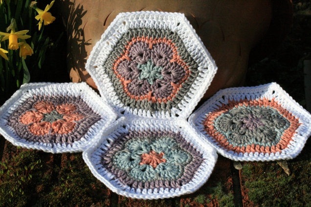 Crochet African Flower Hexagons