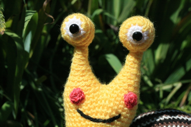 Crochet Snail Face