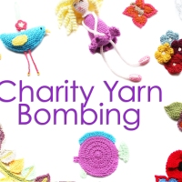 Charity Yarn Bombing 2015