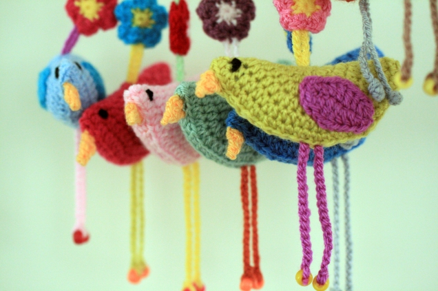 Crochet Birdie Decorations 2