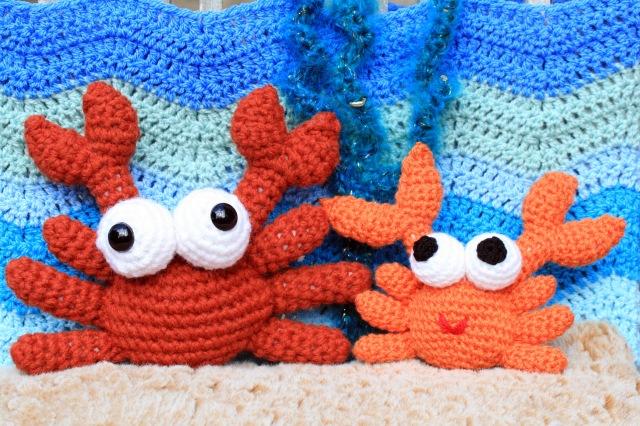 Crochet Crabs
