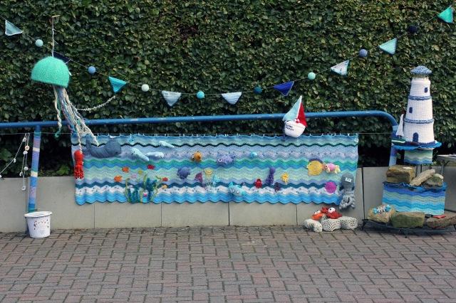 Crochet Sea Scene Full Width