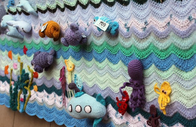 Crochet Sea Scene