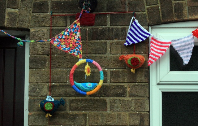 Crochet Bunting and Birdies