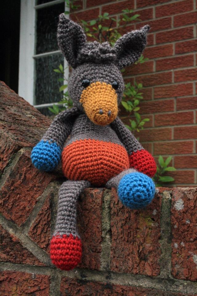 Crochet Donkey Angharad 2