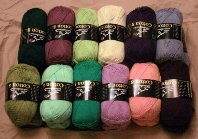 Scheepjes CAL 2014  Yarn Arrives
