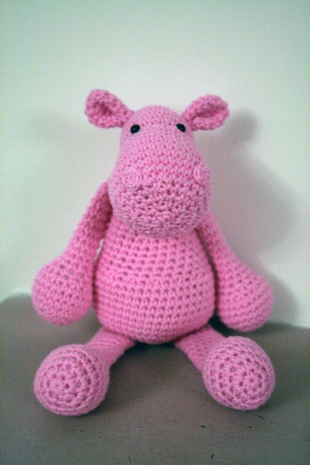 Crochet Hippo2