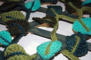 Crochet Leaf Garland 4