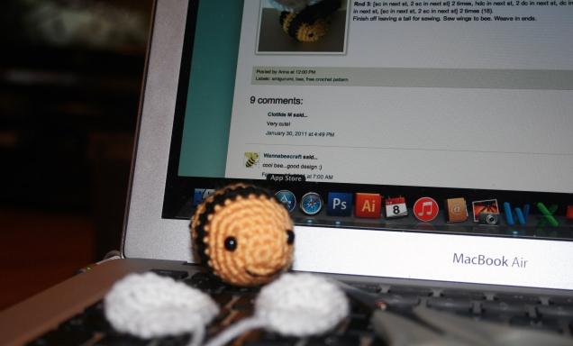 Crochet Bee 2