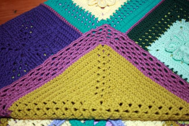 Crochet Scheepieswol Blanket Border